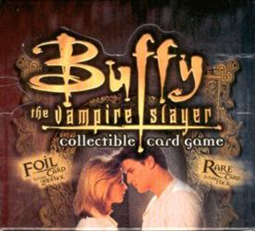 Buffy The Vampire Slayer Collectible Card Game Angel's Curse Booster Box