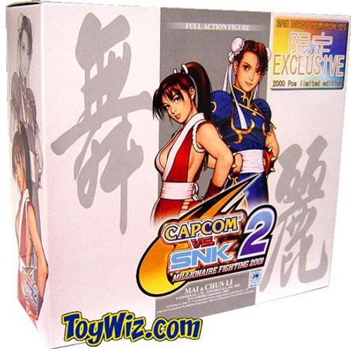 Capcom vs. SNK 2 Mai & Chun Li Action Figure 2-Pack [Repaint]
