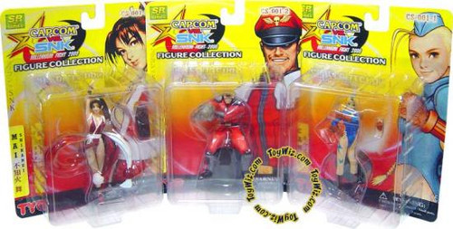 Capcom Vs. SNK Series 1 Set of 3 Action Figures