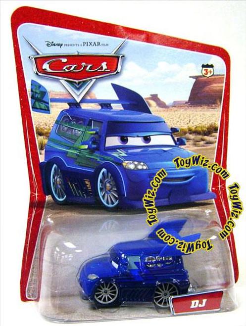 Disney Cars Series 1 DJ Diecast Car