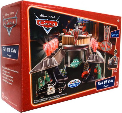 Disney Cars Supercharged Flo's V8 Cafe Playset