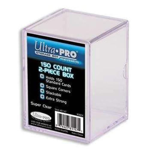 Ultra Pro Card Supplies Clear Deck Box [150 ct]