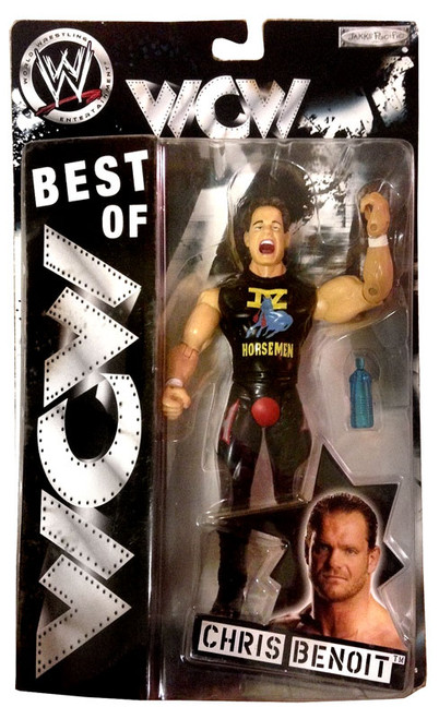 WWE Wrestling Best of WCW Chris Benoit Action Figure