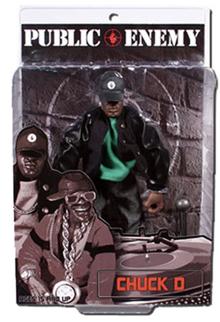 Public Enemy Rap Stars Chuck D. Action Figure