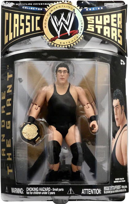 WWE Wrestling Classic Superstars Series 1 Andre the Giant Action Figure