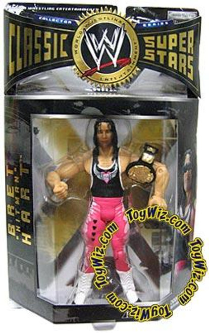 WWE Wrestling Classic Superstars Series 1 Bret Hart Action Figure