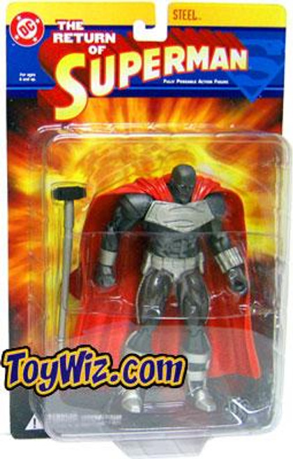 DC The Return of Superman Steel Action Figure [Damaged Package]
