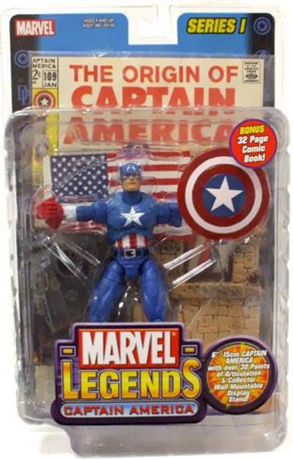 Marvel Legends Series 1 Captain America Action Figure