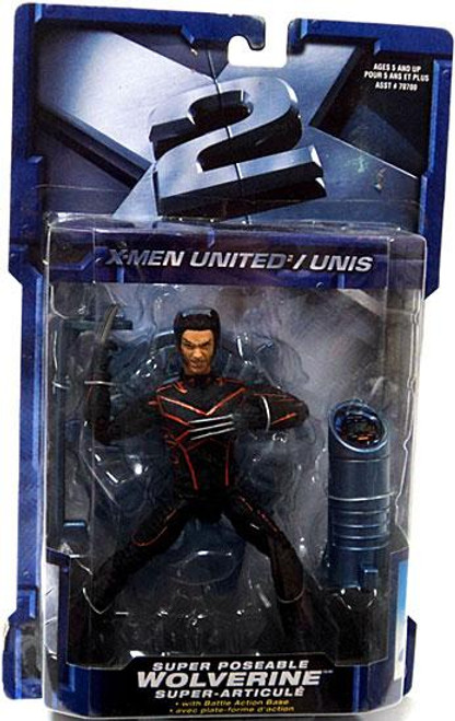 X2: X-Men United Wolverine Action Figure