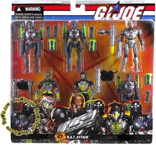 GI Joe Cobra B.A.T. Attack Action Figure Set