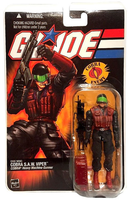 GI Joe Series 3 Cobra S.A.W. Viper Action Figure