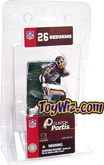 McFarlane Toys NFL Washington Redskins Sports Picks 3 Inch Mini Clinton Portis Mini Figure