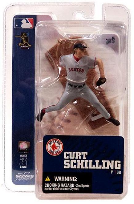 McFarlane Toys MLB Boston Red Sox Sports Picks 3 Inch Mini Series 3 Curt Schilling Mini Figure