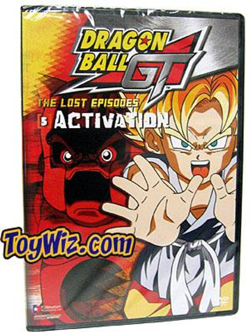 Dragon Ball GT The Lost Episodes Activation DVD #5 [Uncut]