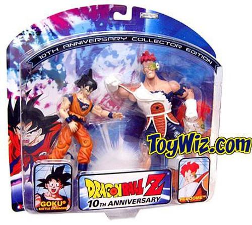 Dragon Ball Z 10th Anniversary Recoome vs. Goku Action Figure 2-Pack [Battle Damaged]