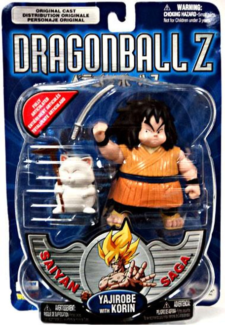 Dragon Ball Z Saiyan Saga Yajirobe Action Figure [With Korin]