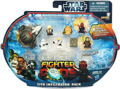 Star Wars Fighter Pods Series 1 Sith Infilitrator Pack Mini Figure Pack