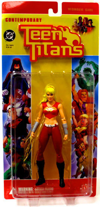 DC Contemporary Teen Titans Series 1 Wonder Girl Action Figure