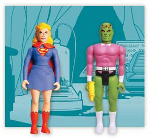 DC Pocket Super Heroes Silver Age Supergirl & Brainiac Action Figure 2-Pack
