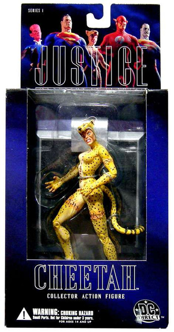 DC Alex Ross Justice League Series 1 Cheetah Action Figure