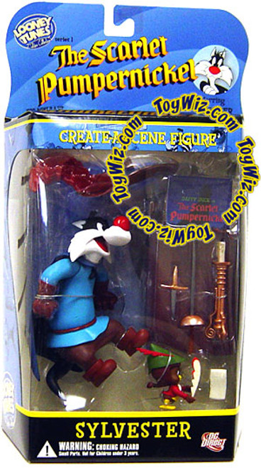 Looney Tunes The Scarlet Pumpernickel Golden Collection Series 1 Sylvester Action Figure