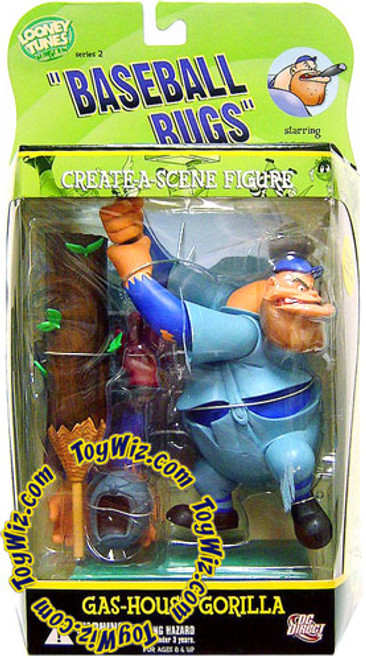 Looney Tunes Baseball Bugs Golden Collection Series 2 Gas House Gorilla Action Figure