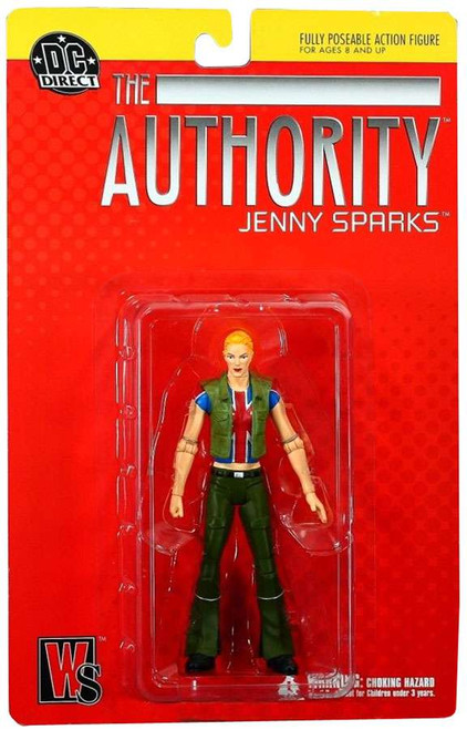 DC Authority Jenny Sparks Action Figure