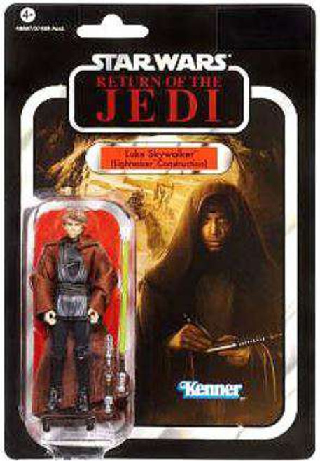 Star Wars Return of the Jedi Vintage Collection 2012 Luke Skywalker Action Figure #87 [Lightsaber Construction]