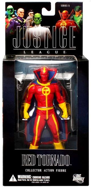 DC Alex Ross Justice League Series 5 Red Tornado Action Figure