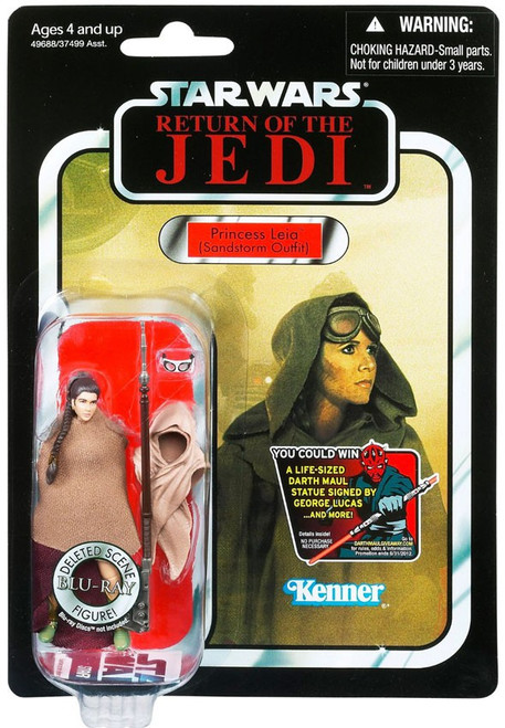 Star Wars Return of the Jedi Vintage Collection 2012 Princess Leia Action Figure #88 [Sandstorm Outfit]