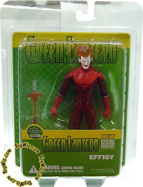 DC Green Lantern Resealable Effigy Action Figure