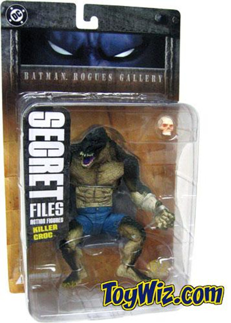 Secret Files Series 1 Batman Rogues Gallery Killer Croc Action Figure