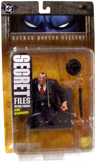 Secret Files Series 1 Batman Rogues Gallery The Penguin Action Figure