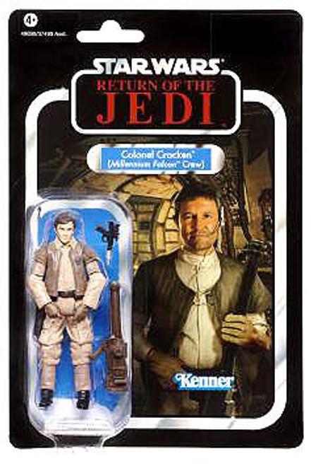 Star Wars Return of the Jedi Vintage Collection 2012 Colonel Cracken Action Figure #90 [Millennium Falcon Crew]