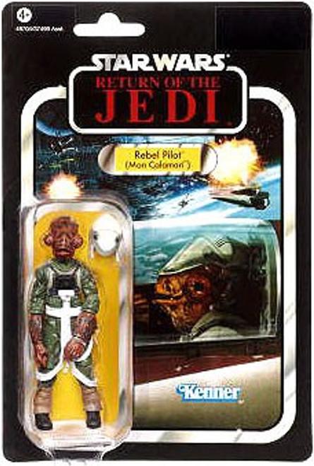 Star Wars Return of the Jedi Vintage Collection 2012 Rebel Pilot Action Figure #91 [Mon Calamari]