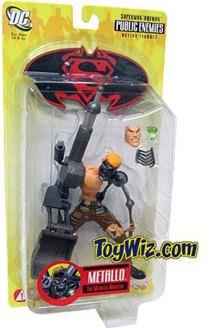 DC Superman Batman Series 1 Public Enemies Metallo Action Figure
