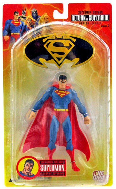 DC Superman Batman Series 2 Return of Supergirl Superman Action Figure