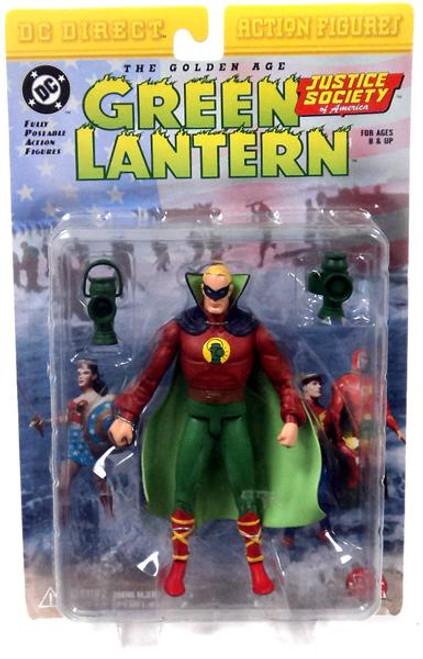 DC JSA The Golden Age Green Lantern Action Figure [Alan Scott]