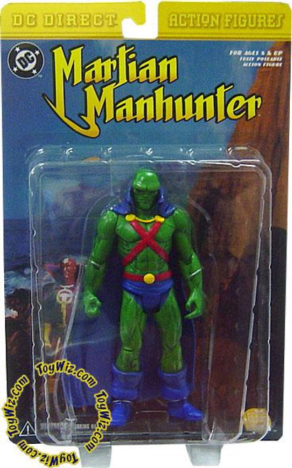 DC Martian Manhunter Action Figure [Damaged Package]