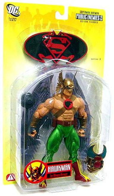 DC Superman Batman Series 3 Public Enemies 2 Hawkman Action Figure