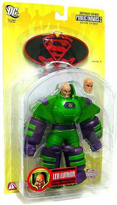 DC Superman Batman Series 3 Public Enemies 2 Armored Lex Luthor Action Figure