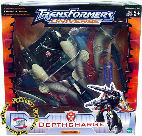 Transformers Universe Ultra Depthcharge Ultra Action Figure