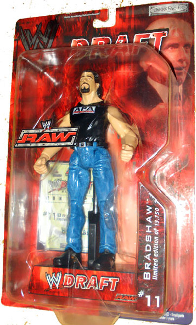 WWE Wrestling Raw Draft Bradshaw Action Figure #11