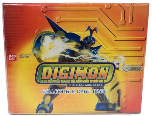 Digimon Collectible Card Game Hybrid Warriors Booster Box