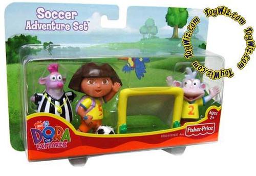 Fisher Price Dora the Explorer Soccer Adventure Set Figure Pack