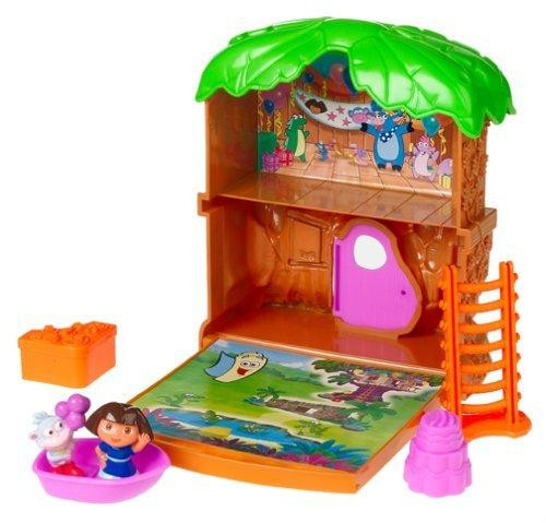Fisher Price Dora the Explorer Let's Go Adventure Treehouse Playset