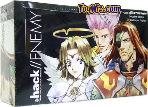 Dot .Hack/Enemy Trading Card Game Distortion Booster Box