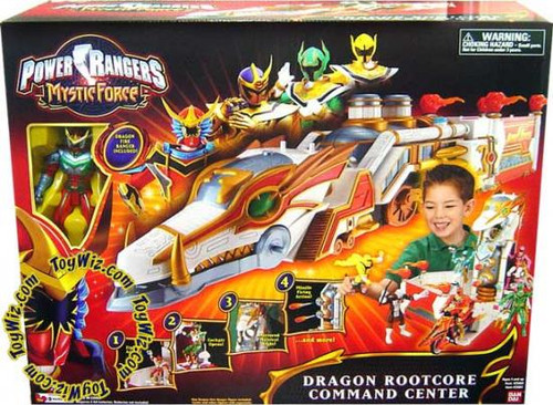 Power Rangers Mystic Force Dragon Rootcore Command Center Action Figure Playset