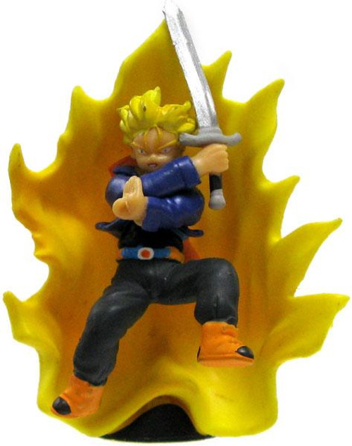 Dragon Ball Z Japanese Super Saiyan Trunks with Sword 2-Inch PVC Figure [Energy Aura]