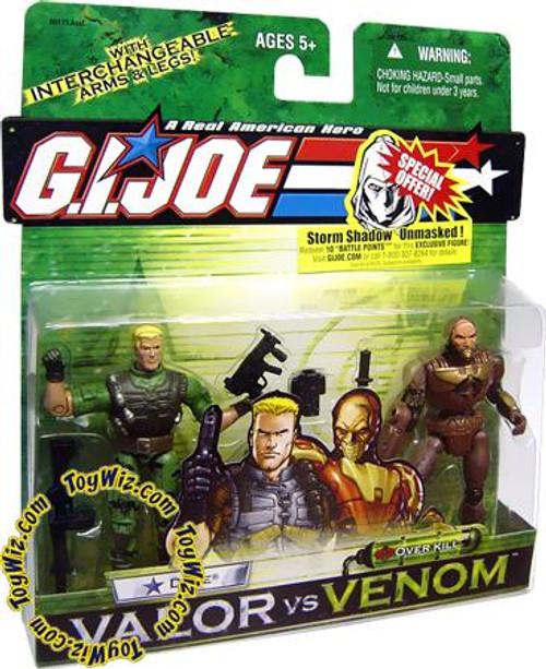 GI Joe Valor vs. Venom Duke & Overkill Action Figure 2-Pack